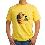 Go Navy Yellow T-Shirt