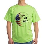 Go Navy Green T-Shirt