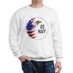 Go Navy (Front) Sweatshirt