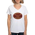 Ahnentafel Arms Women's V-Neck T-Shirt