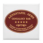 Ahnentafel Arms Tile Coaster