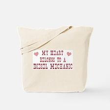 Belongs to Diesel Mechanic Tote Bag