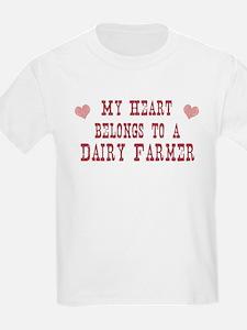 Belongs to Dairy Farmer T-Shirt