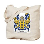 Cunha Family Crest Tote Bag