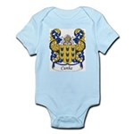 Cunha Family Crest Infant Creeper