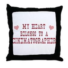 Belongs to Cinematographer Throw Pillow