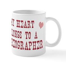 Belongs to Choreographer Small Mug