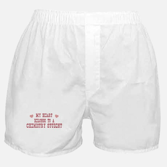 Belongs to Chemistry Student Boxer Shorts