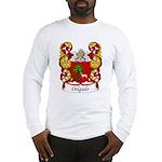 Delgado Family Crest Long Sleeve T-Shirt