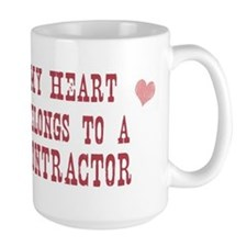 Belongs to Contractor Mug