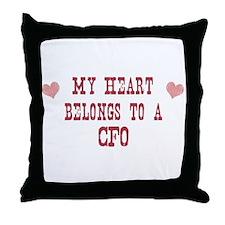 Belongs to CFO Throw Pillow