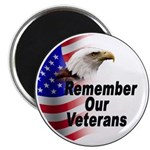 Remember Our Veterans Magnet