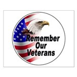 Remember Our Veterans Small Poster