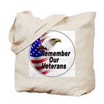 Remember Our Veterans Tote Bag
