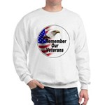 Remember Our Veterans (Front) Sweatshirt