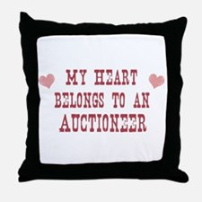 Belongs to Auctioneer Throw Pillow