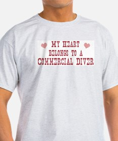 Belongs to Commercial Diver T-Shirt