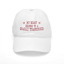 Belongs to Braille Transcribe Baseball Cap