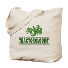 Green Tractor Tote Bag