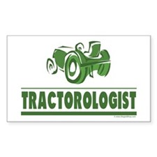 Green Tractor Decal