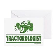Green Tractor Greeting Cards (Pk of 20)