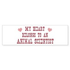 Belongs to Animal Scientist Bumper Bumper Sticker