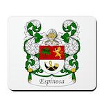 Espinosa Family Crest Mousepad