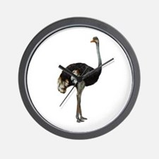 Ostrich Bird Wall Clock
