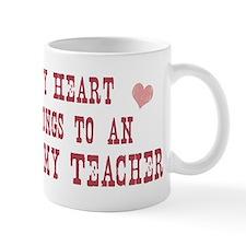 Belongs to Anatomy Teacher Small Small Mug