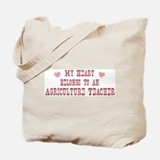 Belongs to Agriculture Teache Tote Bag