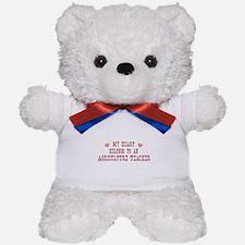 Belongs to Agriculture Teache Teddy Bear