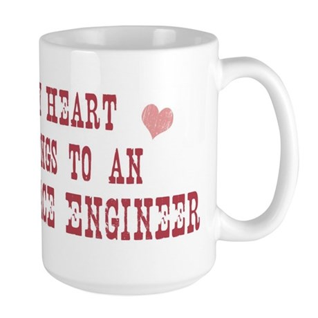 Belongs to Aerospace Engineer Large Mug