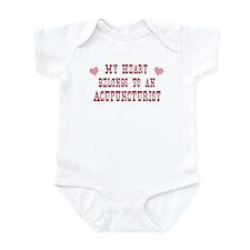 Belongs to Acupuncturist Infant Bodysuit