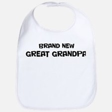 Brand New Great Grandpa Bib