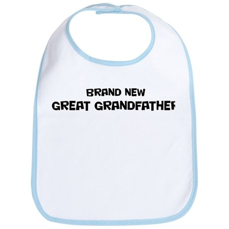 Brand New Great Grandfather Bib