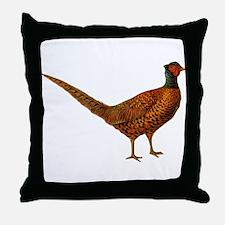 Pheasant Bird Throw Pillow