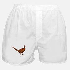 Pheasant Bird Boxer Shorts