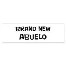 Brand New Abuelo Bumper Bumper Sticker