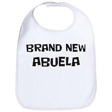 Brand New Abuela Bib