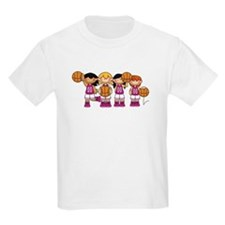 Girl's Basketball Team T-Shirt
