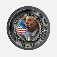 Unique President barack obama occasions Wall Clock