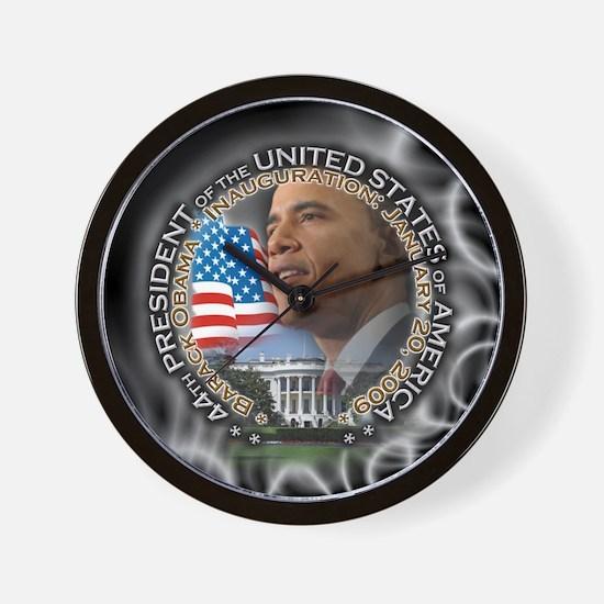 Cute Obama won Wall Clock