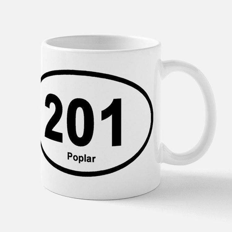 201 Poplar Mug