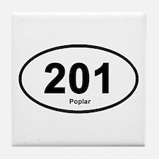 201 Poplar Tile Coaster