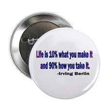 "Irving Berlin quote 2.25"" Button"