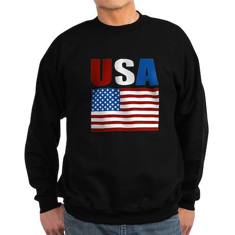 Patriotic USA Sweatshirt (dark)