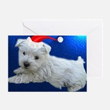 Holiday Westie Greeting Card