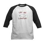 Uff da! Lutefisk Kids Baseball Jersey