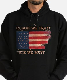 In God We Trust Hoodie (dark)