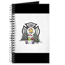 Fire Dept Christmas Journal